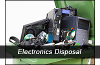 Electronics Disposal Header Graphic