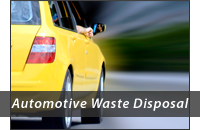 Automotive Waste Disposal header graphic