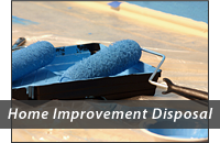 Home Improvement Disposal Header Graphic