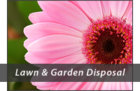 Lawn and Garden Disposal Header Graphic