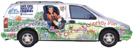 car-seat-checkup-van